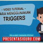 Cara Menggunakan Efek Trigger Dalam PowerPoint