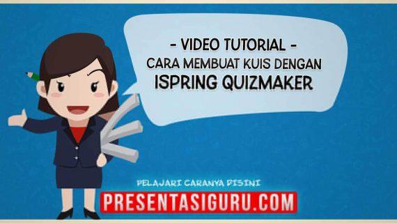 Cara Membuat Kuis Pembelajaran Dengan iSpring Quizmaker Dalam PowerPoint
