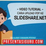 Cara Upload File PDF PowerPoint ke SlideShare.net