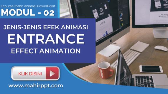 Jenis Animasi Entrance Effect Pada Powerpoint
