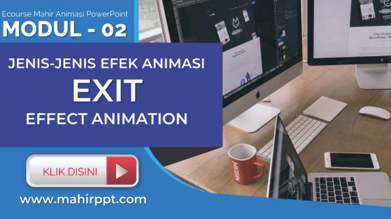 Jenis Animasi Exit Effect Pada Powerpoint