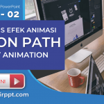 Jenis Animasi Motion Path Effect Pada Powerpoint